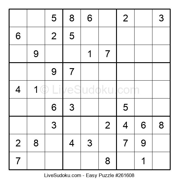 Beginners Puzzle #261608