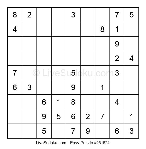 Beginners Puzzle #261624