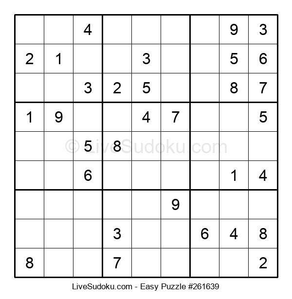 Beginners Puzzle #261639