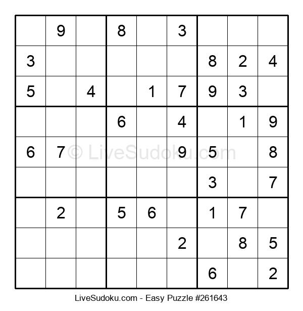 Beginners Puzzle #261643