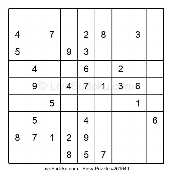Beginners Puzzle #261649