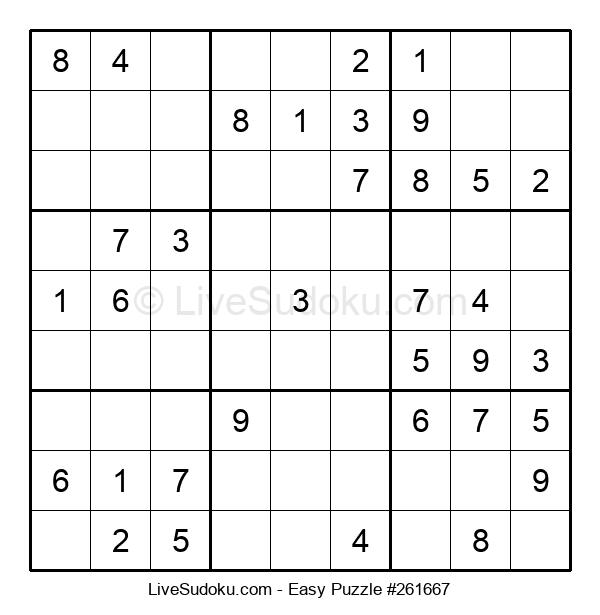 Beginners Puzzle #261667