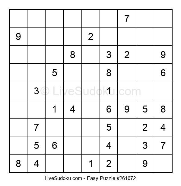 Beginners Puzzle #261672
