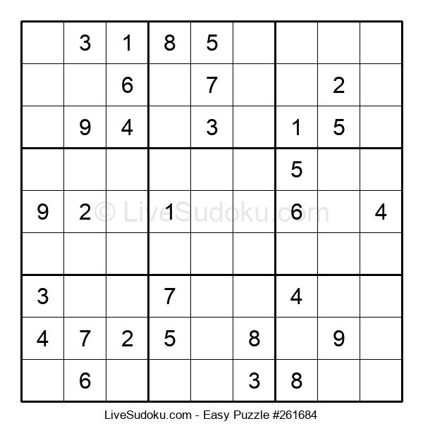 Beginners Puzzle #261684