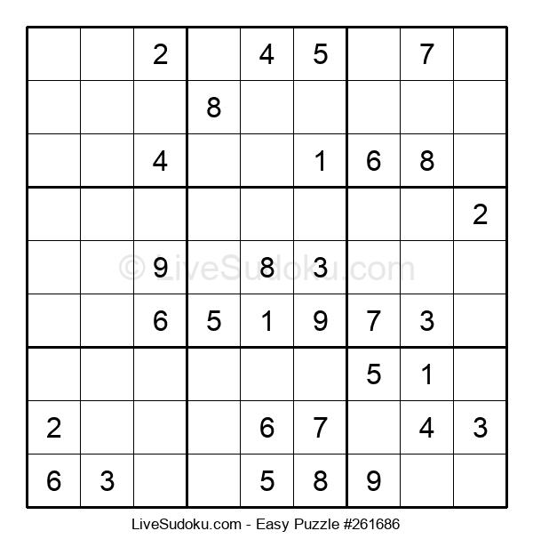 Beginners Puzzle #261686