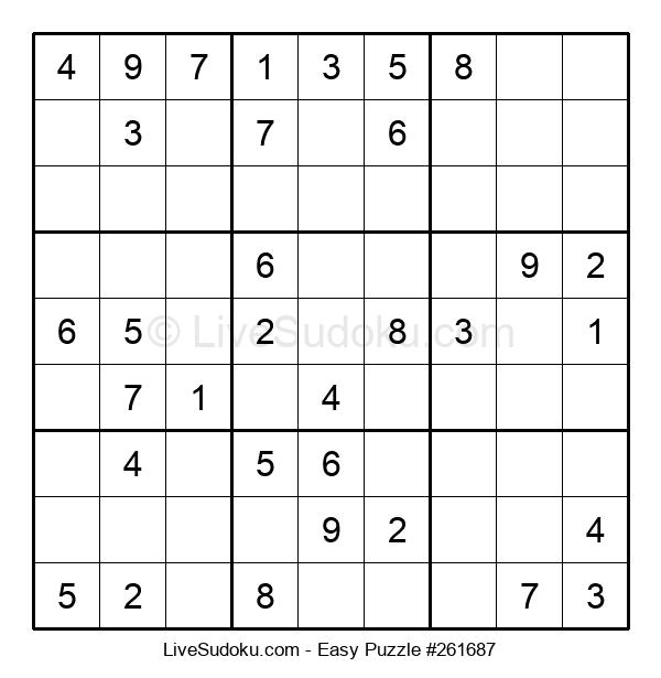 Beginners Puzzle #261687
