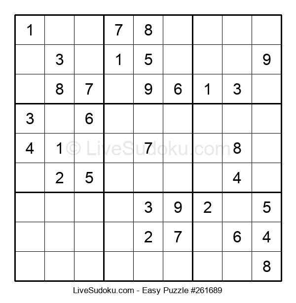 Beginners Puzzle #261689
