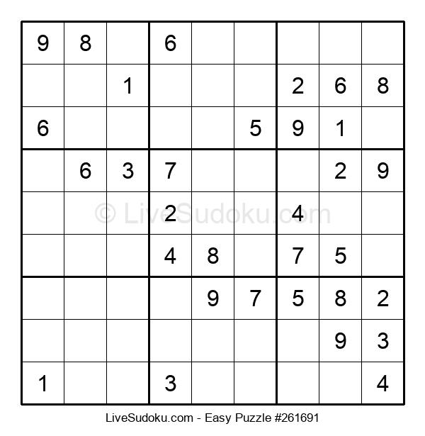 Beginners Puzzle #261691