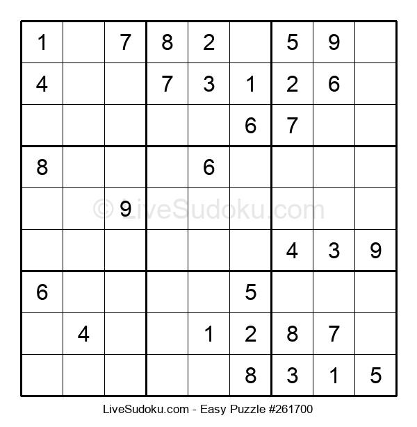 Beginners Puzzle #261700