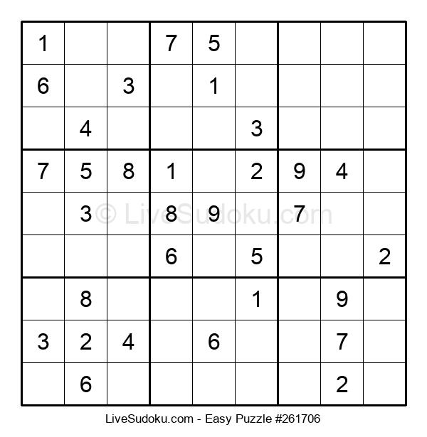 Beginners Puzzle #261706