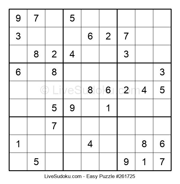 Beginners Puzzle #261725