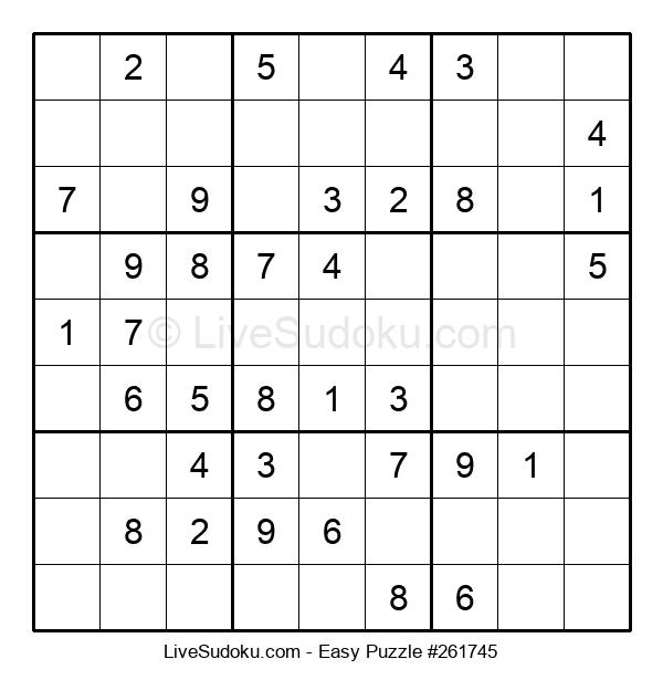 Beginners Puzzle #261745