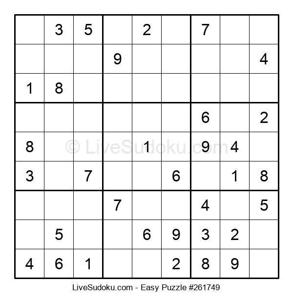 Beginners Puzzle #261749