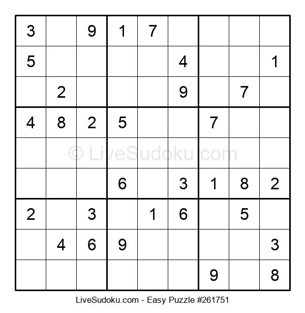Beginners Puzzle #261751
