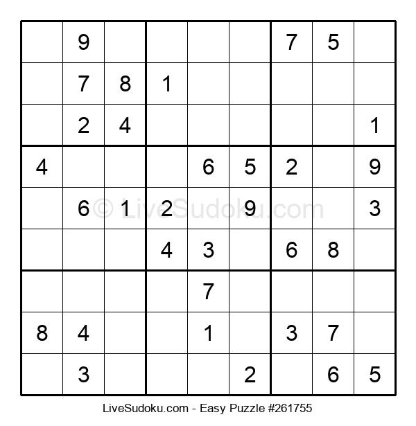 Beginners Puzzle #261755