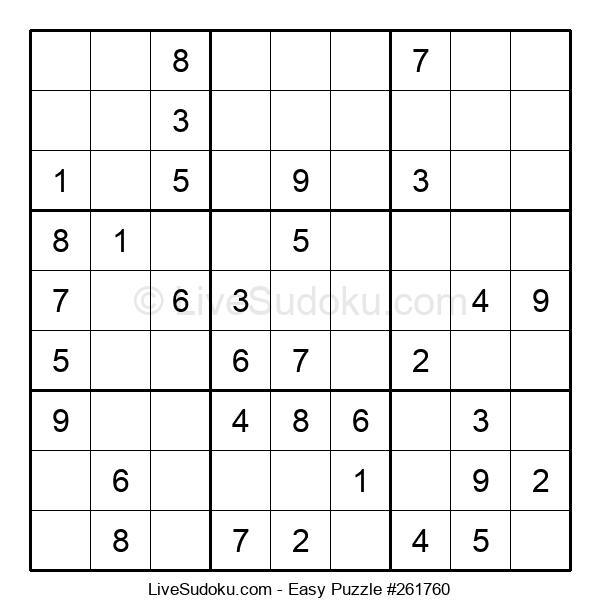 Beginners Puzzle #261760