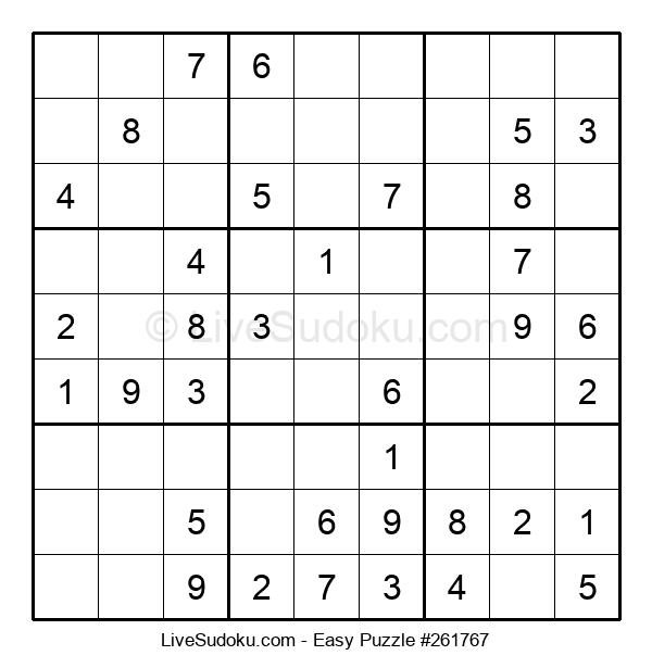 Beginners Puzzle #261767