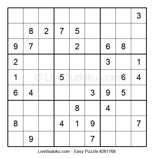 Beginners Puzzle #261768