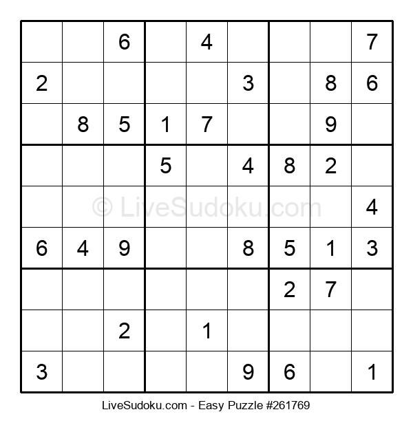 Beginners Puzzle #261769