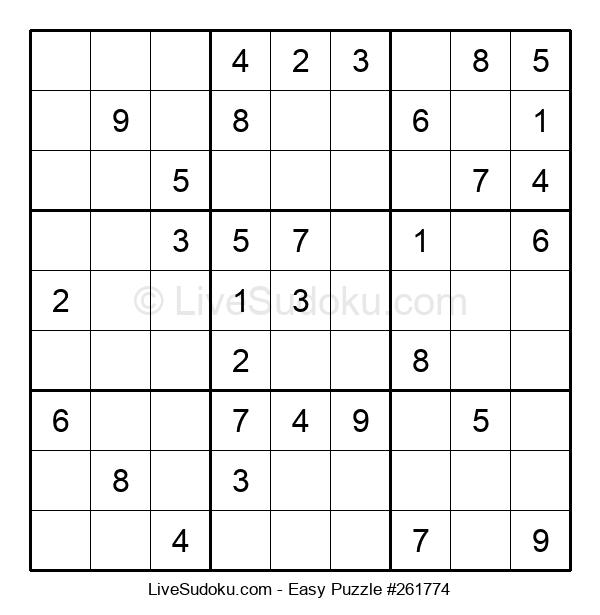 Beginners Puzzle #261774