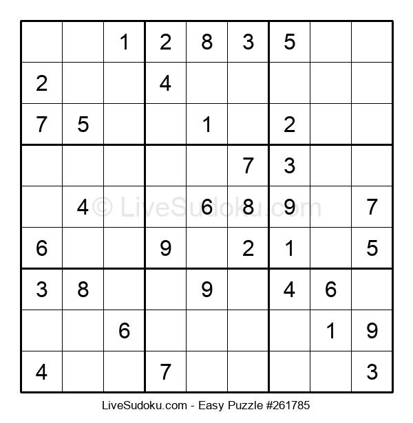 Beginners Puzzle #261785