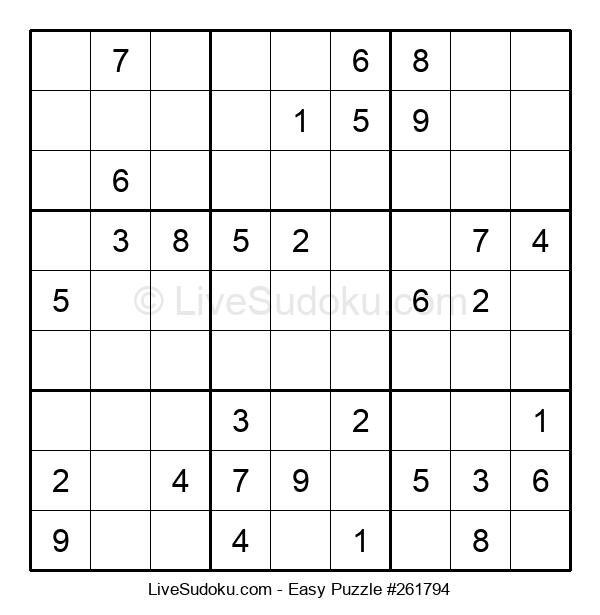 Beginners Puzzle #261794