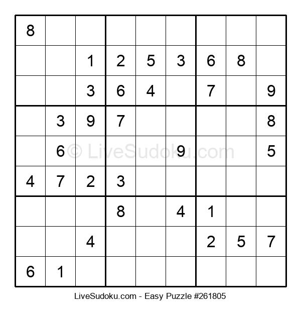 Beginners Puzzle #261805