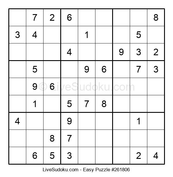 Beginners Puzzle #261806