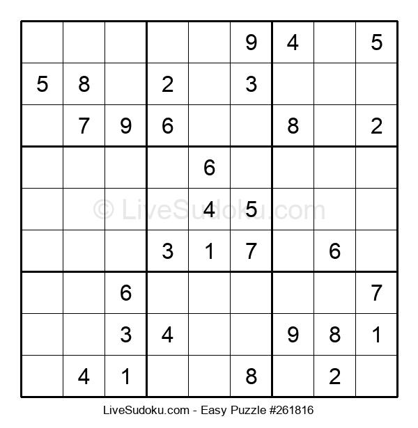 Beginners Puzzle #261816