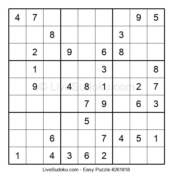 Beginners Puzzle #261818
