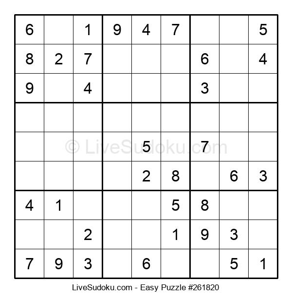 Beginners Puzzle #261820