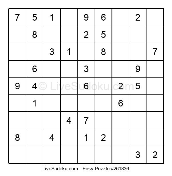 Beginners Puzzle #261836
