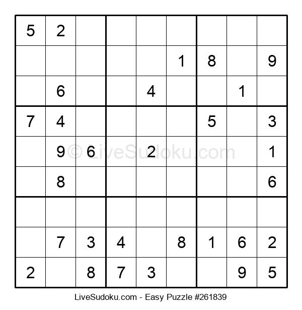 Beginners Puzzle #261839