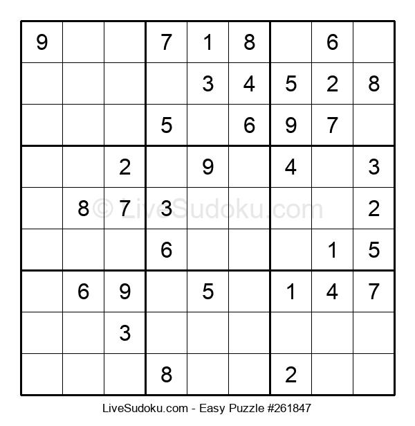 Beginners Puzzle #261847
