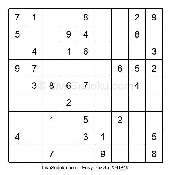 Beginners Puzzle #261849