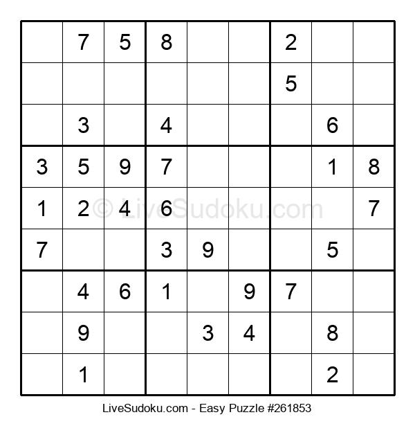 Beginners Puzzle #261853