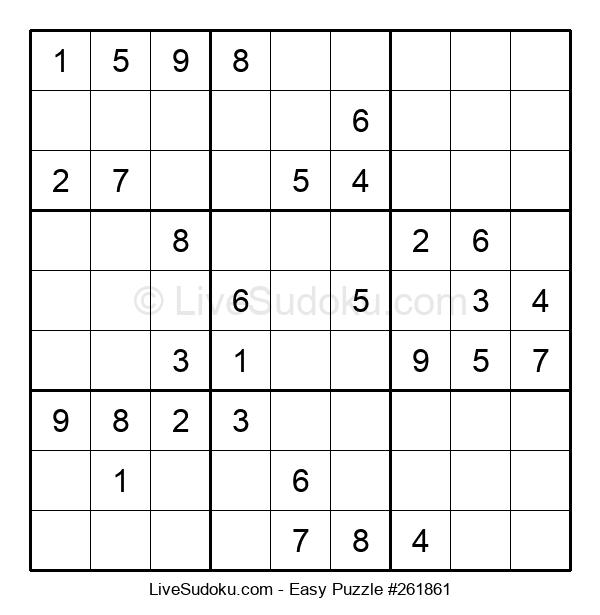 Beginners Puzzle #261861