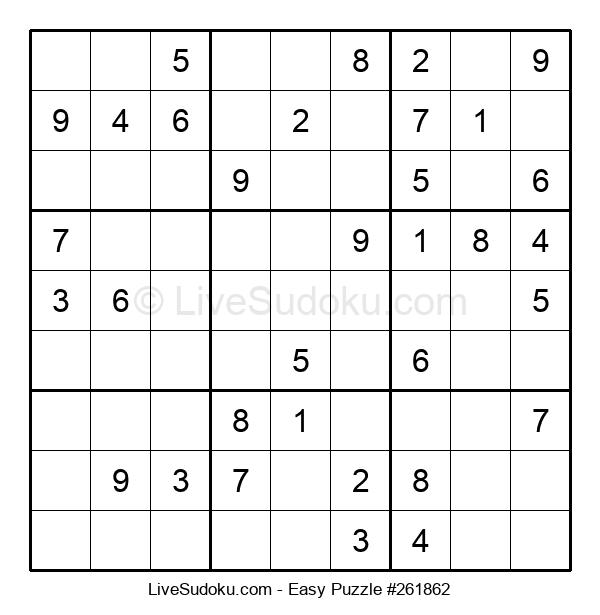 Beginners Puzzle #261862