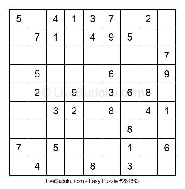 Beginners Puzzle #261863