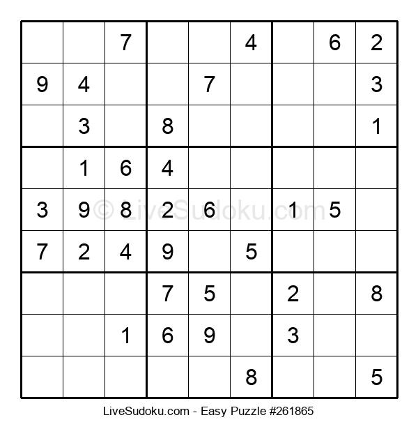 Beginners Puzzle #261865