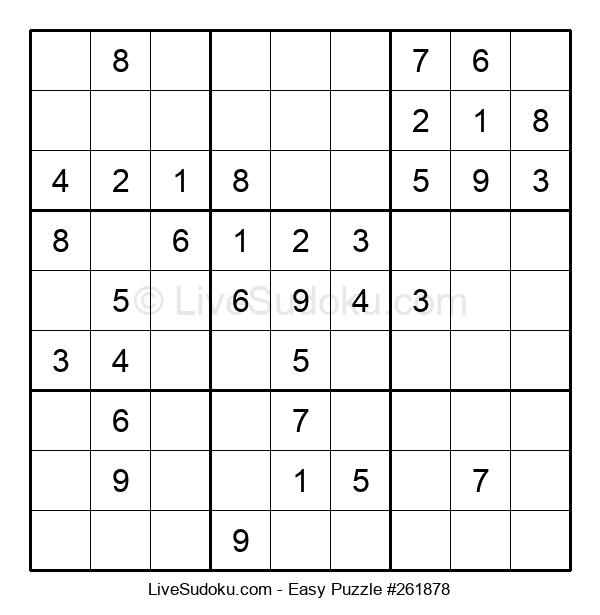 Beginners Puzzle #261878