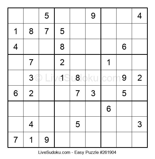 Beginners Puzzle #261904