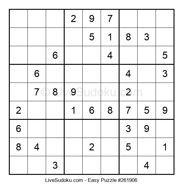 Beginners Puzzle #261906