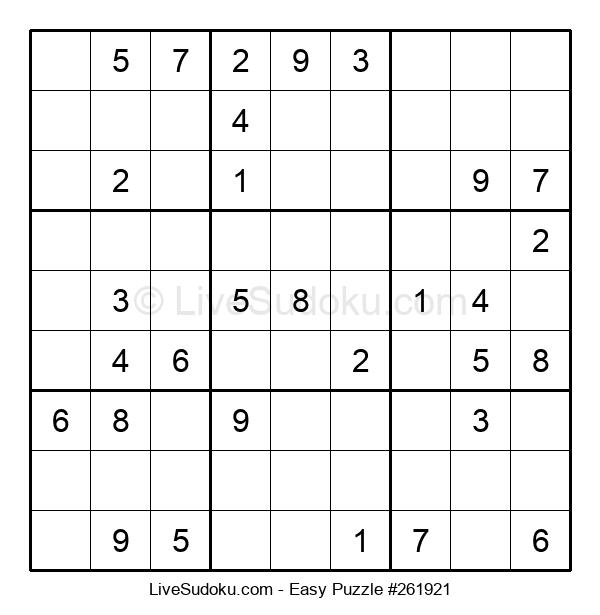 Beginners Puzzle #261921