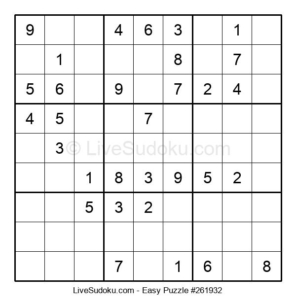 Beginners Puzzle #261932