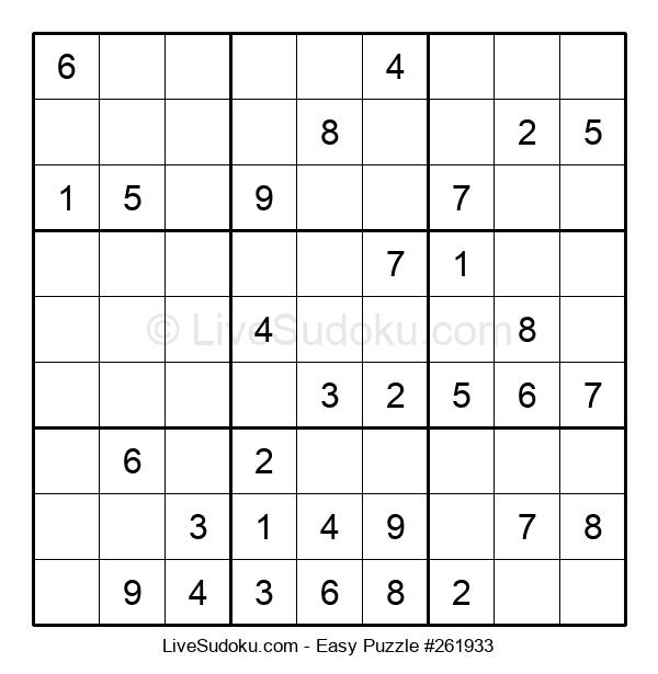 Beginners Puzzle #261933
