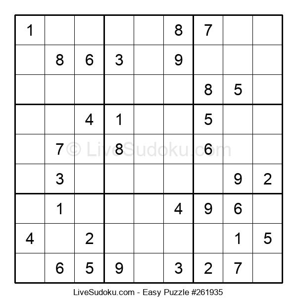Beginners Puzzle #261935