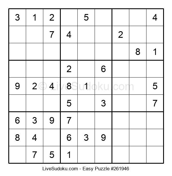 Beginners Puzzle #261946