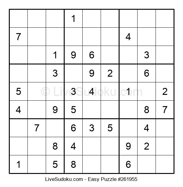 Beginners Puzzle #261955