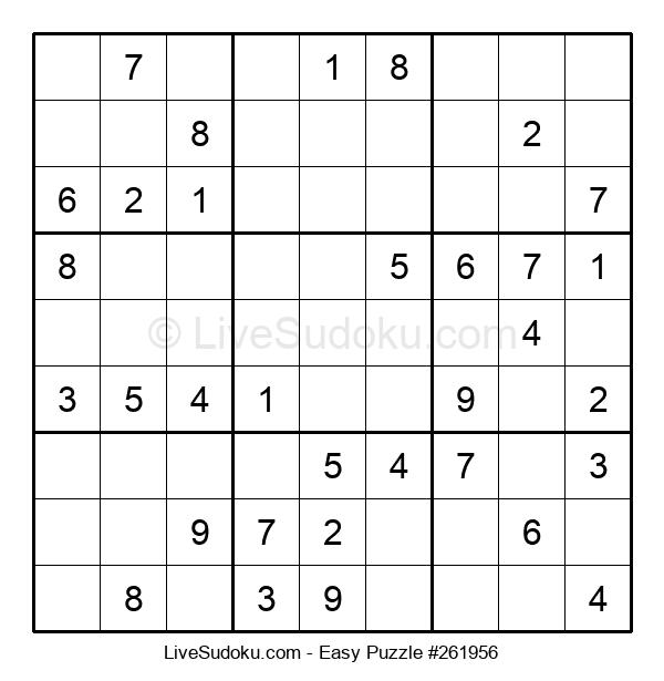Beginners Puzzle #261956
